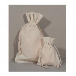 Sachets coton naturel