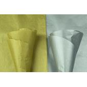 Goud, zilver zijdepapier